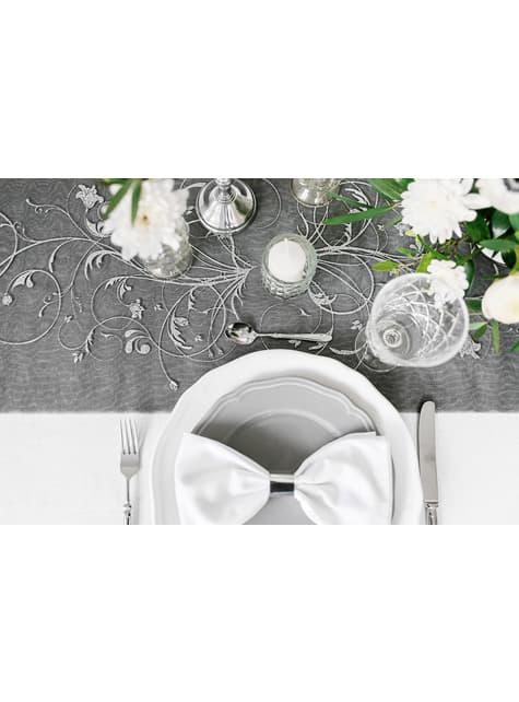 10 servilleteros plateados - para decorar todo durante tu fiesta