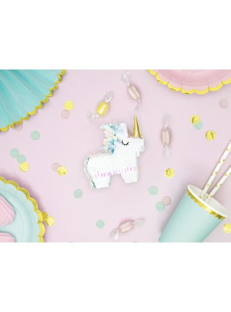Mini piñata de unicornio - Unicorn Collection - para tus fiestas