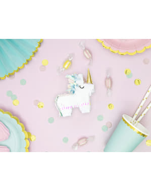 Mini Einhorn Piniata Topfschlagespiel - Unicorn