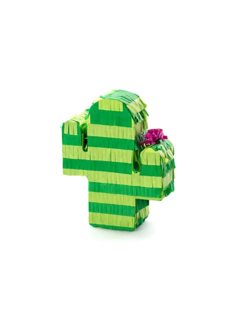 Mini piñata de cactus