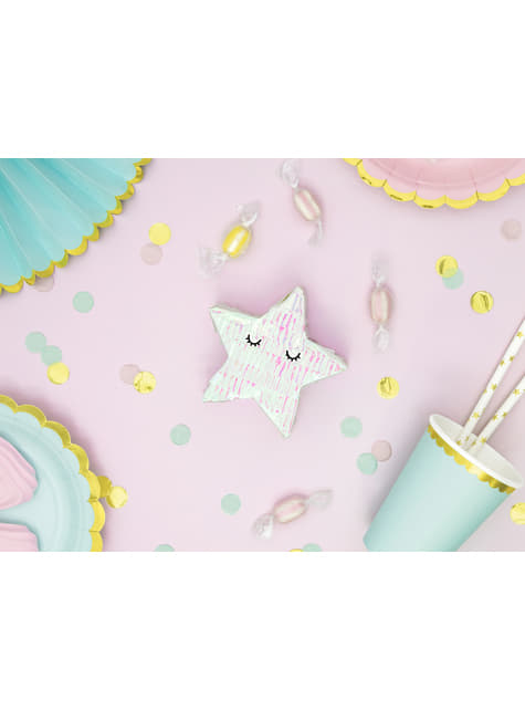 Mini piñata de estrella - Iridescent - original