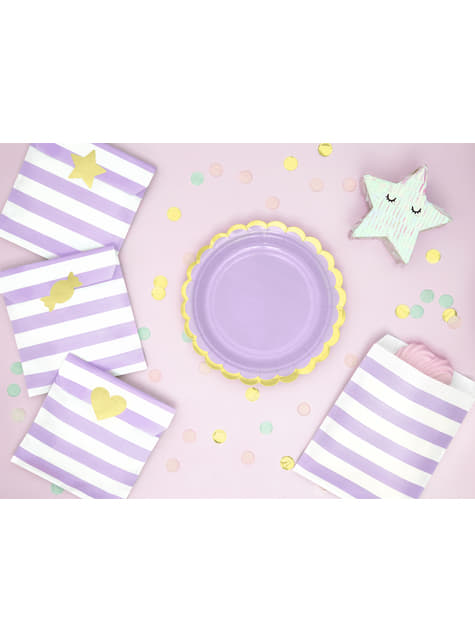 Mini piñata de estrella - Iridescent - para decorar todo durante tu fiesta