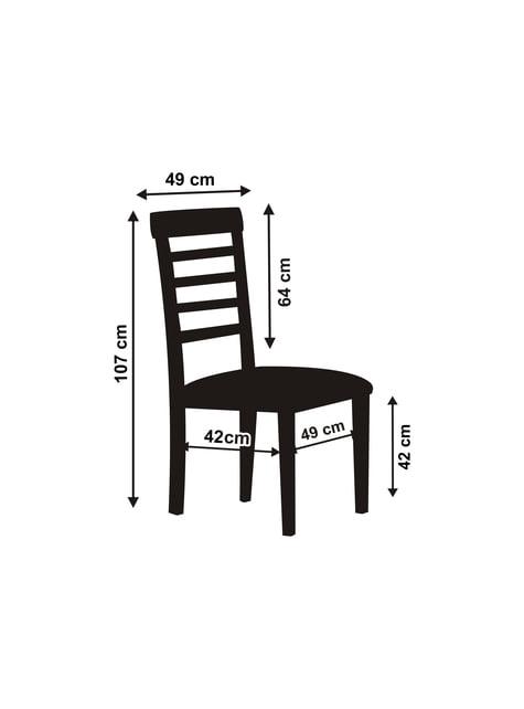 Cobertura de pano branco brilhante para cadeira 107 cm