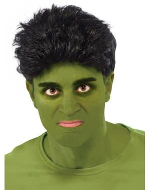 Peruca de Hulk dos Vingadores: A Era de Ultron para adulto