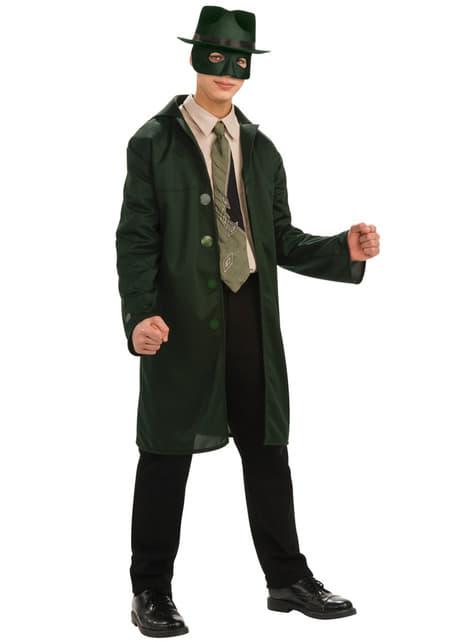 Chlapecký kostým Zelený sršeň deluxe