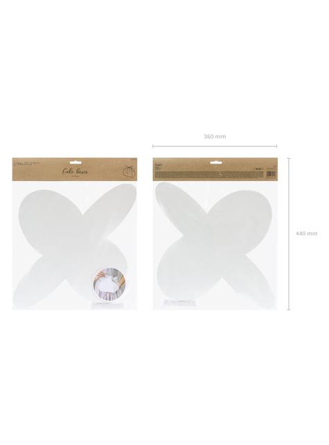 10 cajas blancas para pastel - First Communion - barato