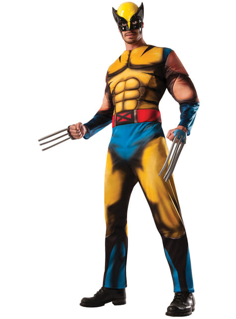 Adults Wolverine Marvel Deluxe Costume