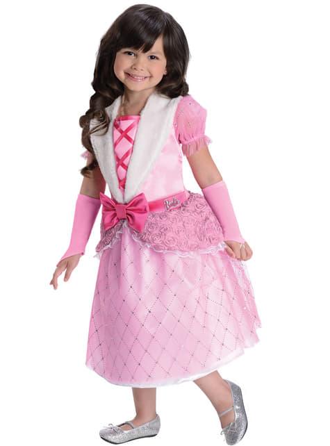 Disfraz de Princesa Rosebud Barbie para niña