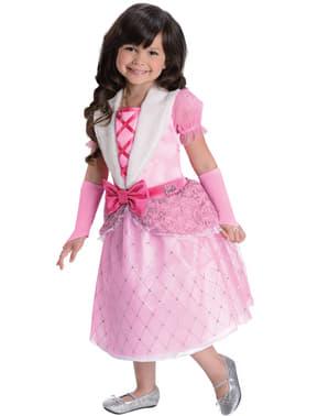 Rosebud Barbie prinsesse kostyme til jente