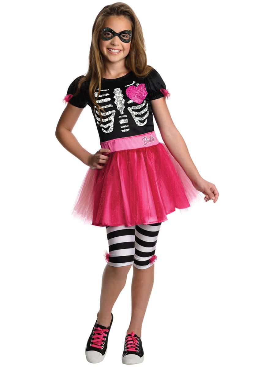 halloween barbie kost m f r m dchen. Black Bedroom Furniture Sets. Home Design Ideas