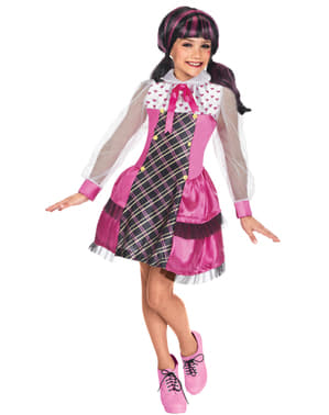 Costum Draculaura Monster High Romance pentru fată
