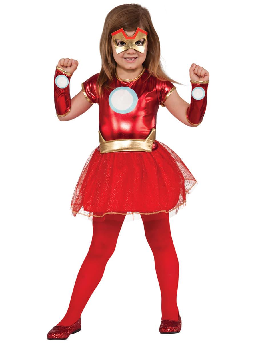 girls rescue marvel costume detalle zoom