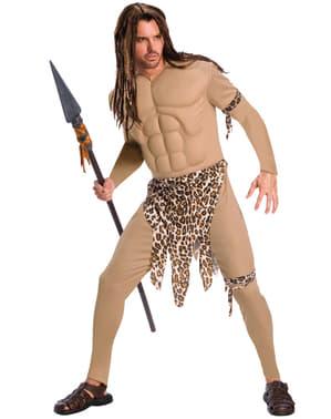 Fato de Tarzan deluxe para homem