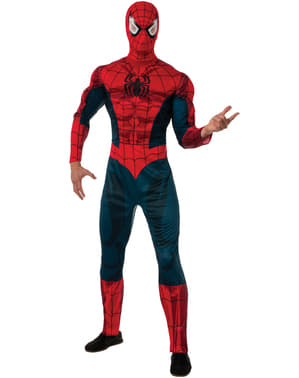 Costum Spiderman Marvel deluxe pentru adult