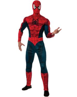 Marvel Spiderman Deluxe maskeraddräkt Vuxen