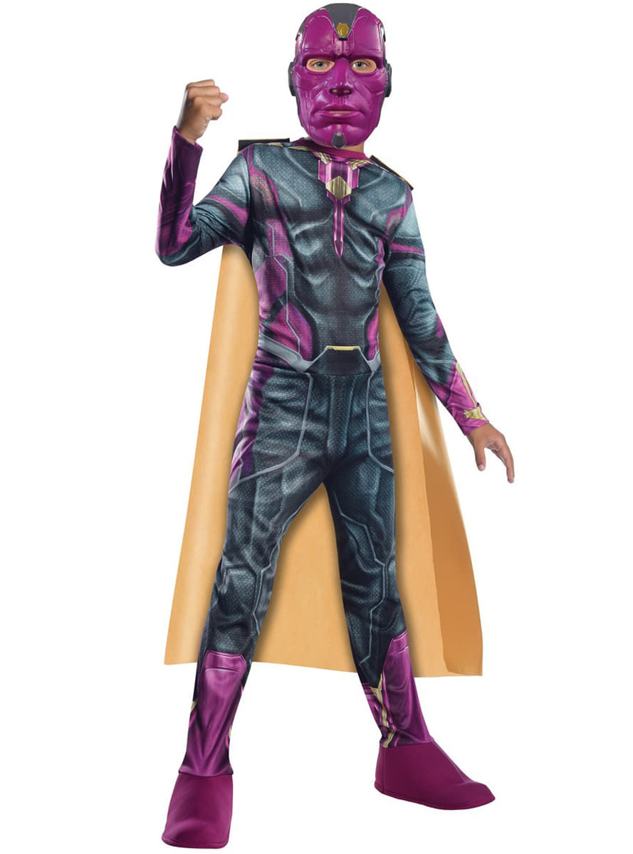 Boys Vision The Avengers Age Of Ultron Costume