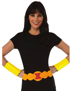 Black Widow Marvel Kostyme Sett Dame