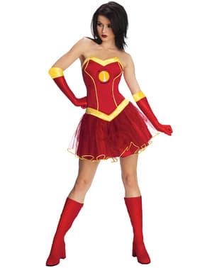 Livredder Iron Man Marvel Klassisk Kostyme Dame