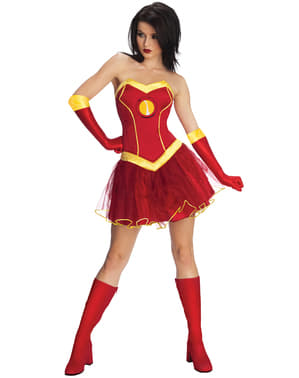 Rescue Iron Man Marvel Costume for women