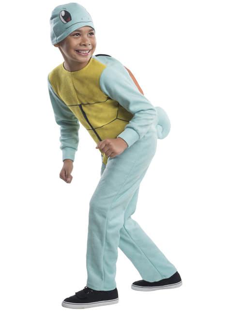 Boys Squirtle Pokemon Costume