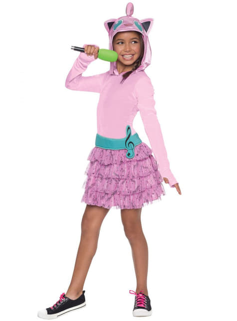 Girls Jigglypuff Pokemon Costume
