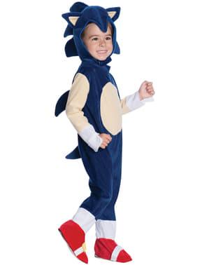 Costum Sonic pentru bebeluși