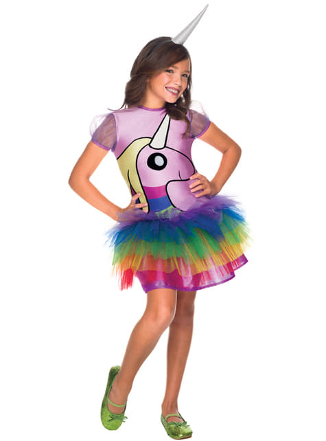 Girls Lady Rainicorn Adventure Time Costume