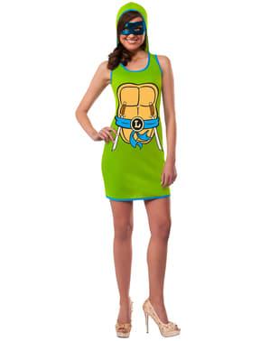 Ninja Turtles Leonardo Maskeradklänning Vuxen