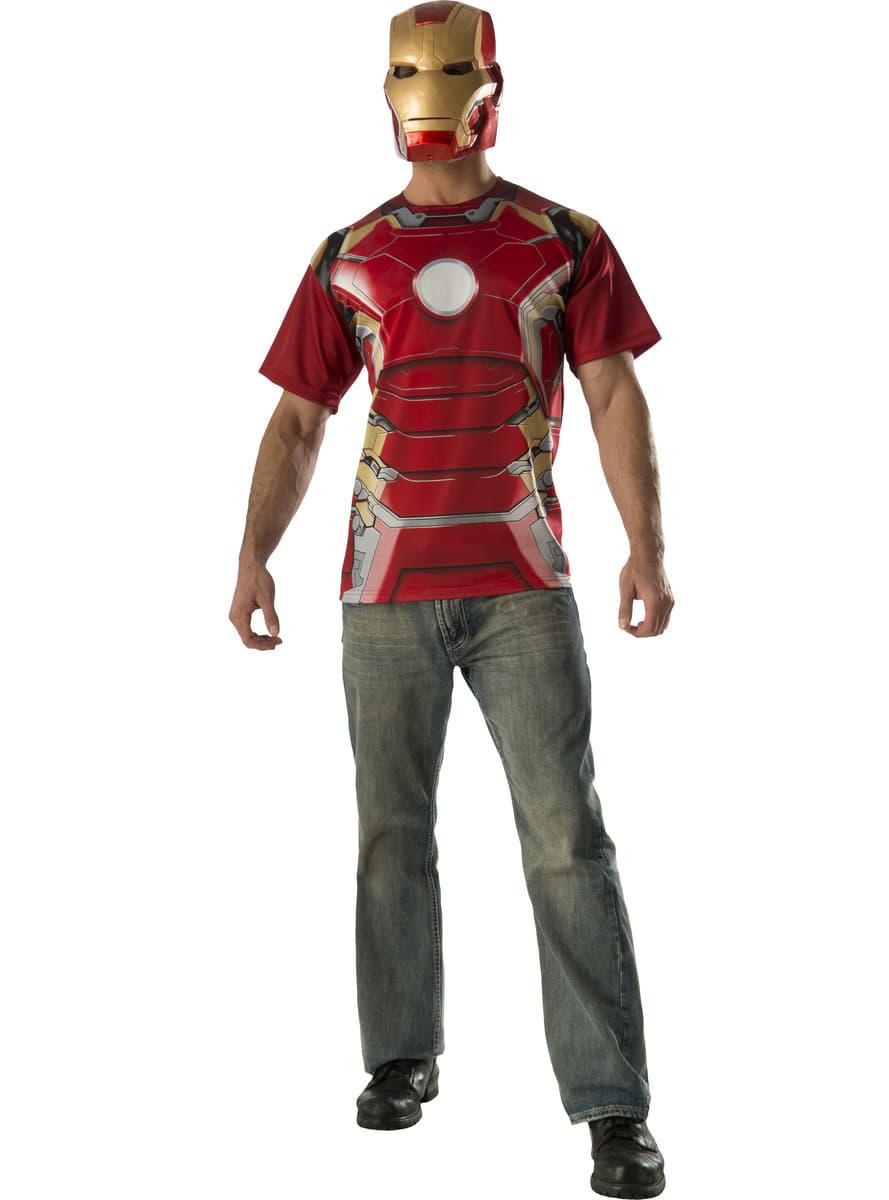 Adults Iron Man Avengers Age Of Ultron Costume Kit