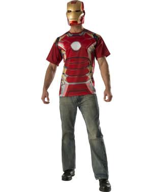 Kit costum Iron Man Avengers: Age of Ultron pentru adult