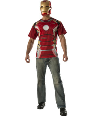 Kit costume Iron Man Avengers: Age of Ultron adulto