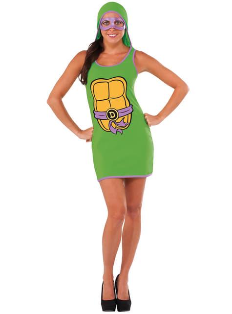 Γυναικεία φορεσιά Donatello εφηβική μεταλλαγμένη Ninja χελώνες