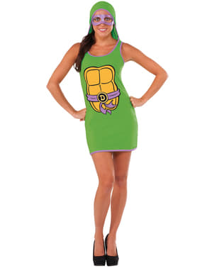 Donatello Ninja Turtle Kleid für Damen