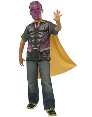 Zestaw kostium Vision The Avengers Czas Ultrona dla chłopca