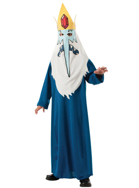 Mens Ice King Adventure Time Costume