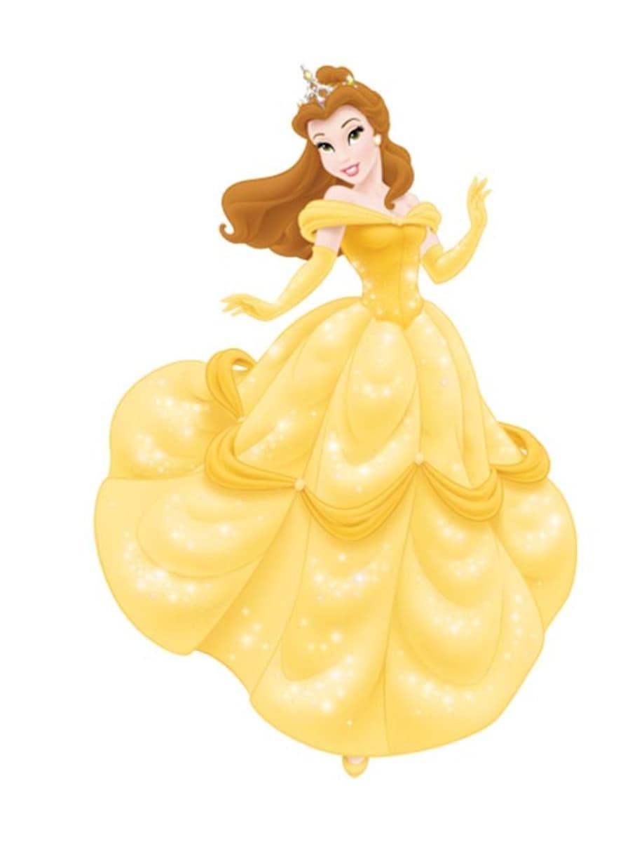 Set de 6 figuras articuladas de las princesas disney entrega 24h funidelia - La belle princesse ...