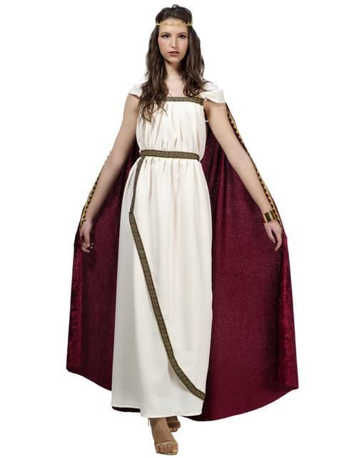 Womens Plus Size Trojan Queen Costume