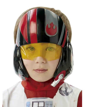 Момче Х-крило пилот Star Wars Епизод 7 маска