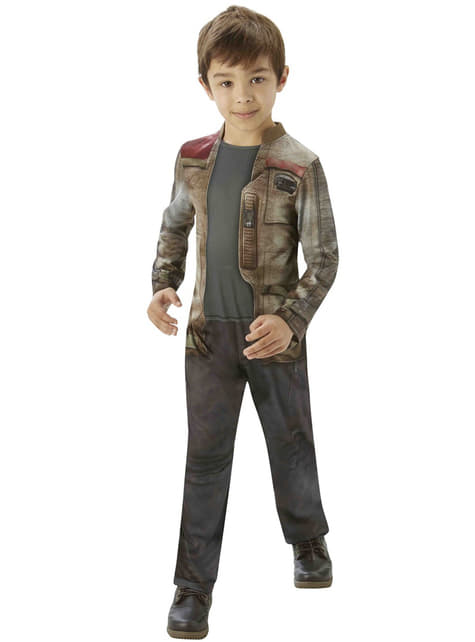 Disfraz de Finn Star Wars Episodio 7 para niño