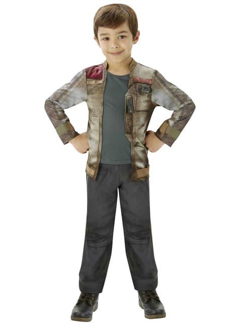 Disfraz de Finn Star Wars Episodio 7 deluxe para niño