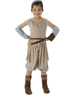 Rey Star Wars Episode 7 costume for girls