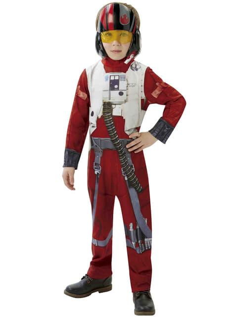 Boys X-Wing Pilot Star Wars Episode 7 Costume