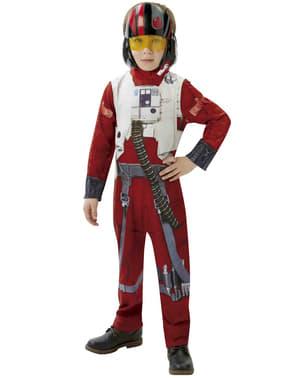 Fato de Piloto X-Wing Star Wars Episódio VII para menino
