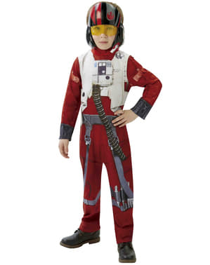 Star Wars: The Force Awakens X-Wing pilot Maskeraddräkt Barn