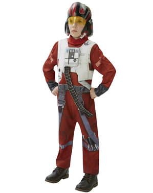 Costum Pilot X-Wing Star Wars Episodul 7 deluxe pentru adolescenți