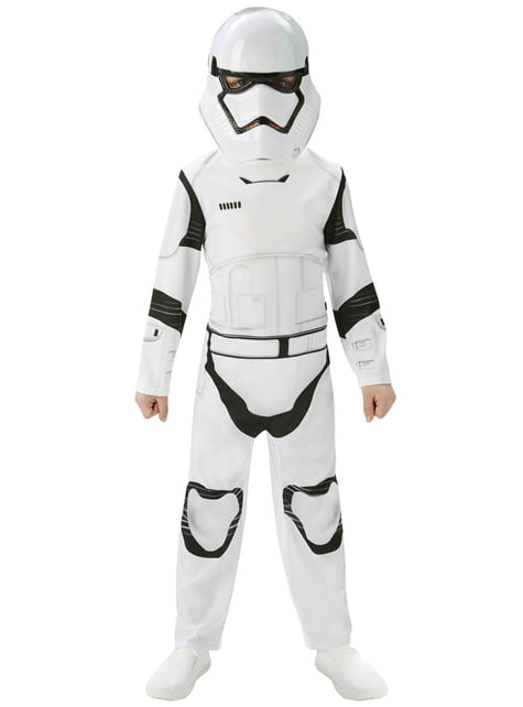 Fato de Stormtrooper Star Wars Episódio VII para menino