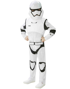 Star Wars: The Force Awakens Stormtrooper Deluxe Maskeraddräkt Ungdom