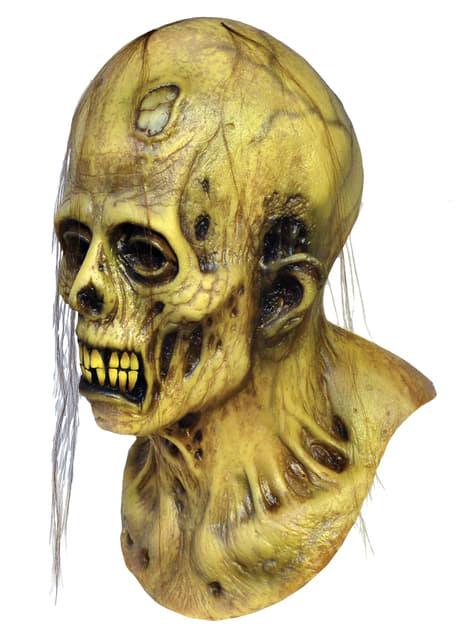 Máscara Zombie Cazador del Miedo Historias de la Cripta de látex - para tu disfraz