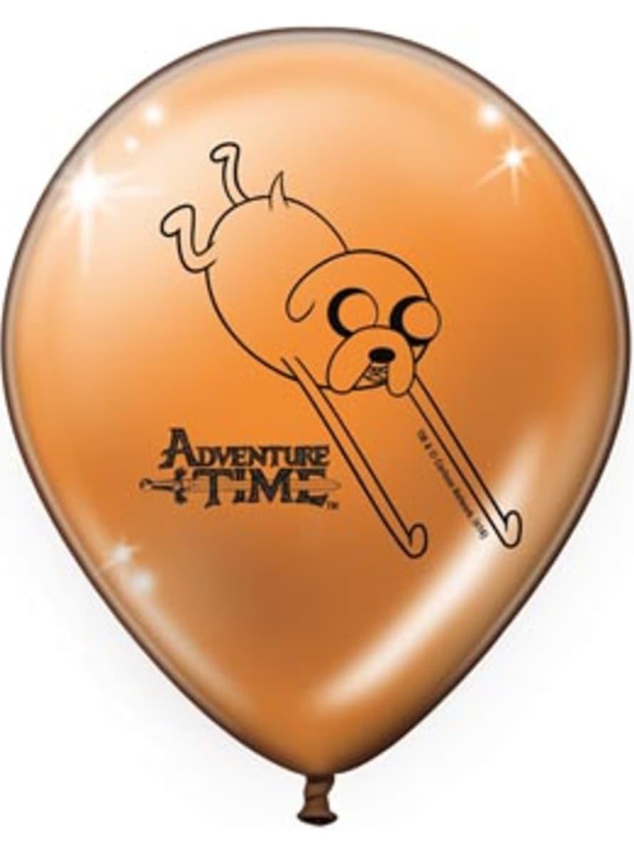 Adventure Time - Abenteuerzeit mit Finn und Jake 8 Luftballon Set ...
