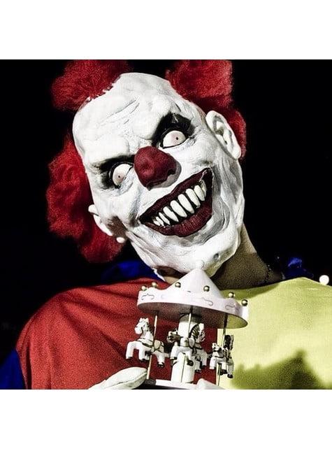Masque de clown endiablé